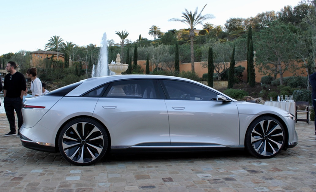 2017 Tesla Price Range >> Ultra-luxury Lucid 'Air' will start at $52,500 with 240 ...