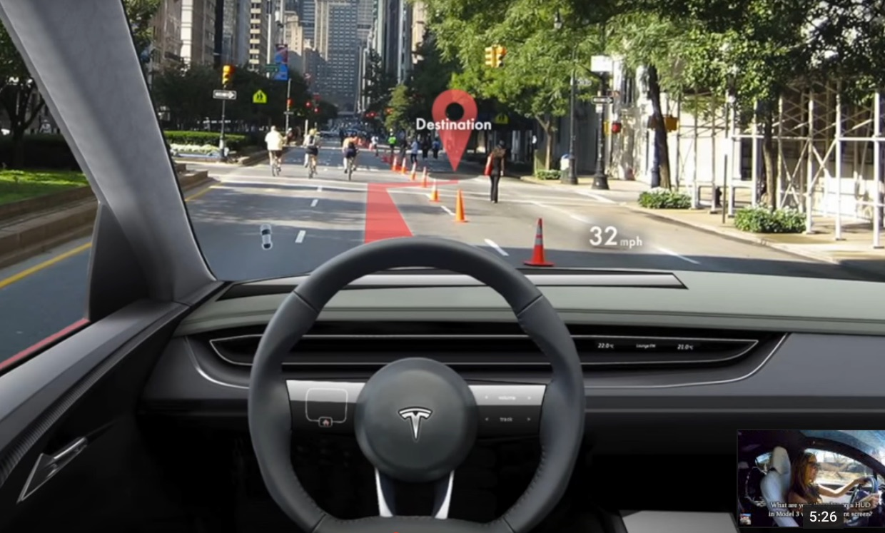 A deep look at why a Tesla Model 3 HUD might just work