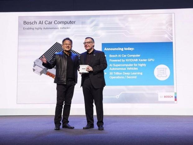 Nvidia-Bosch-partner-AI-self-driving-supercomputer
