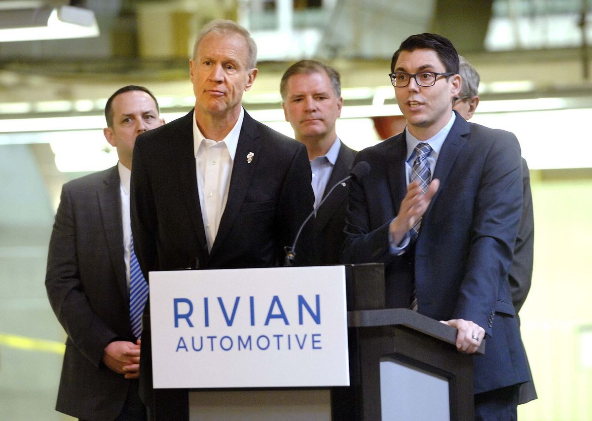 Rivian-autonotive-governor-rauner-illinois
