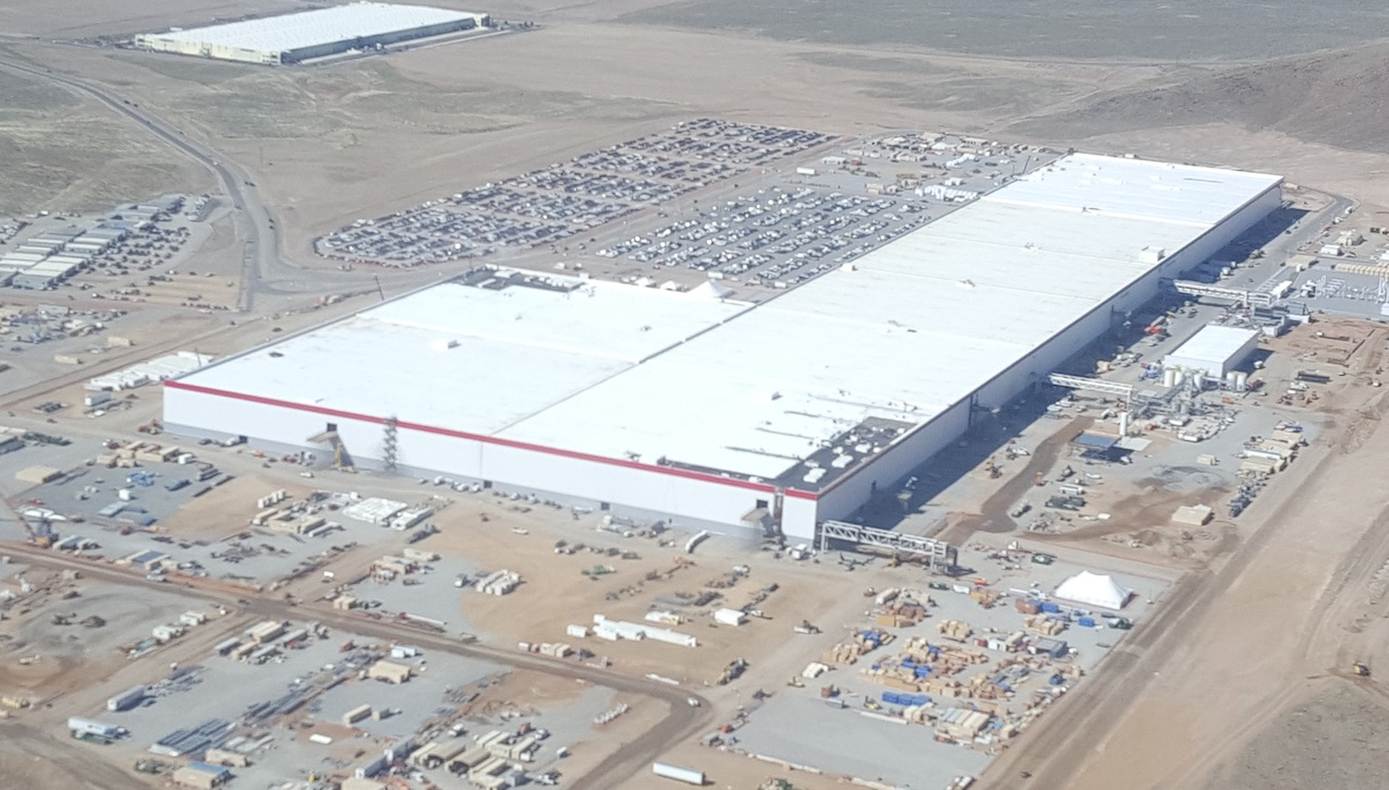 Tesla Gigafactory 1 Is Beginning To Look Like A Small City
