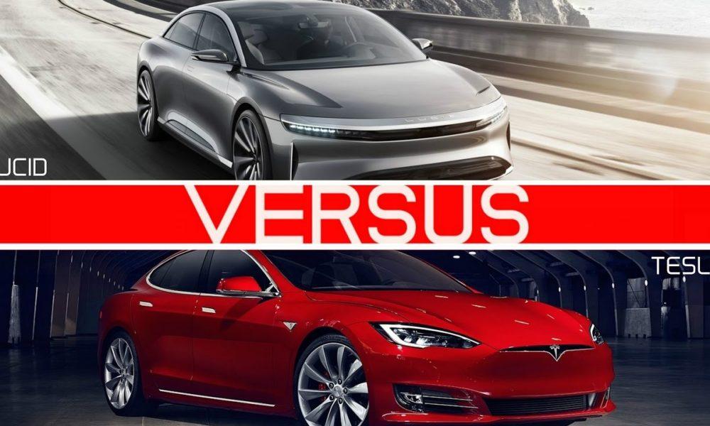 Tesla Model S Vs Lucid Air Comparison Of Range