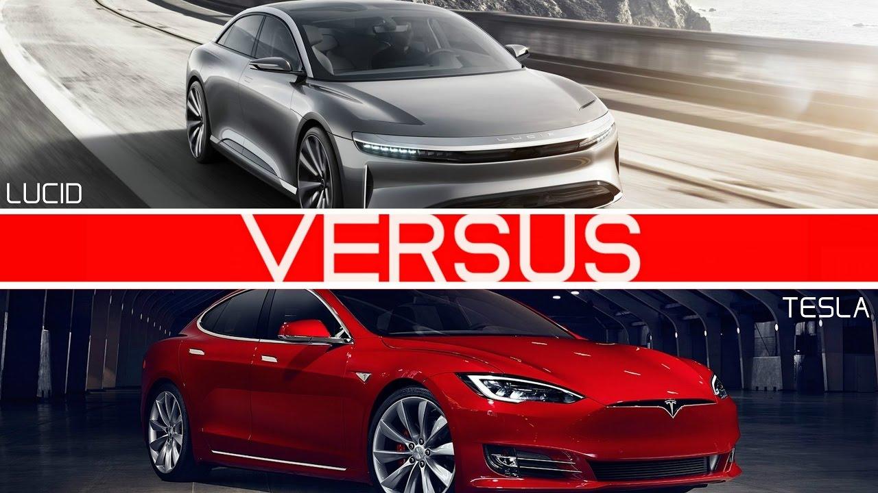 Tesla Supercharger Map 2017 >> Tesla Model S vs. Lucid Air: comparison of range ...