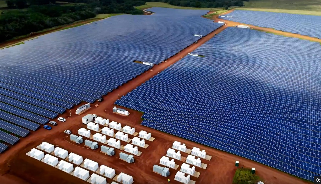 Tesla's Solar and Battery project in Kauai