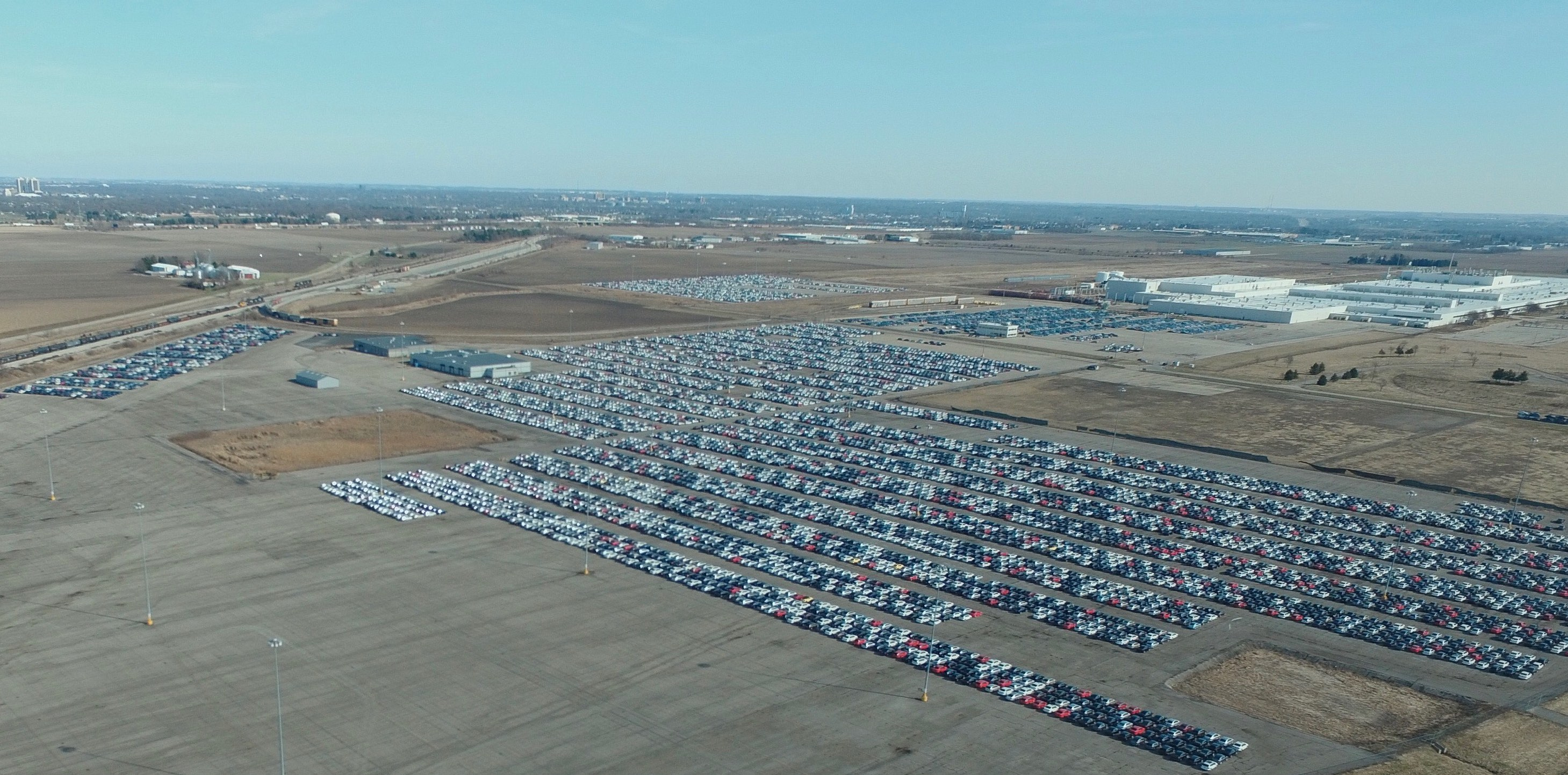 Thousands of VW Diesels being Stored