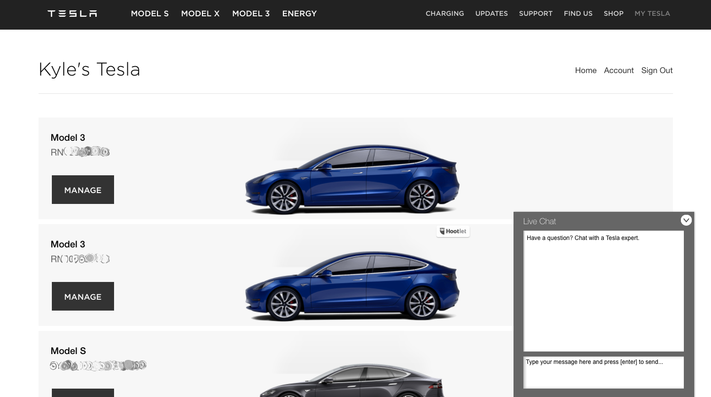 Tesla prepares for increased service volume, adds Live Chat