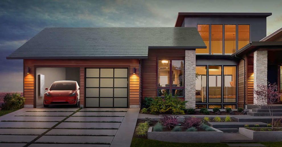 Here Comes Tesla S Solar Roof Smooth And Textured Tiles