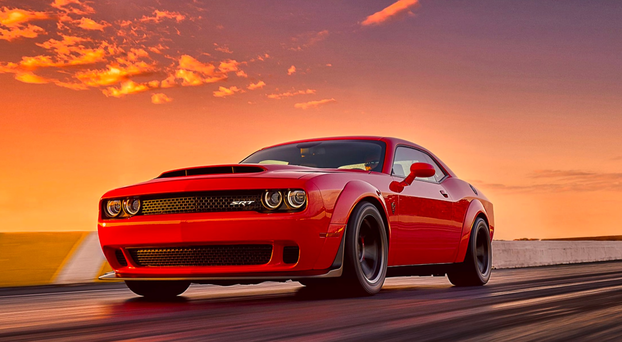 dodge demon looks to dethrone tesla 39 s title for quickest production car in the world. Black Bedroom Furniture Sets. Home Design Ideas