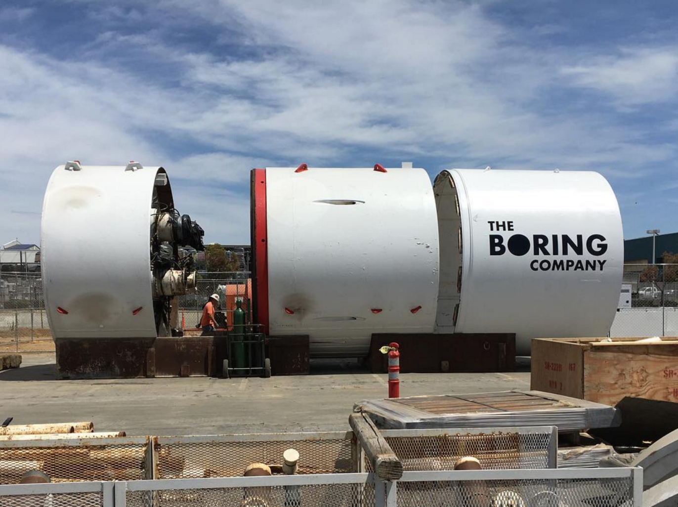 Musk-Boring-Company-equipment-SpaceX
