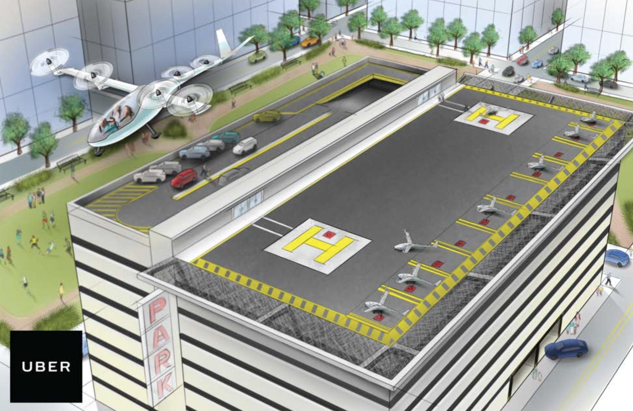 Uber-VTOL-Vertiport-NextMobility