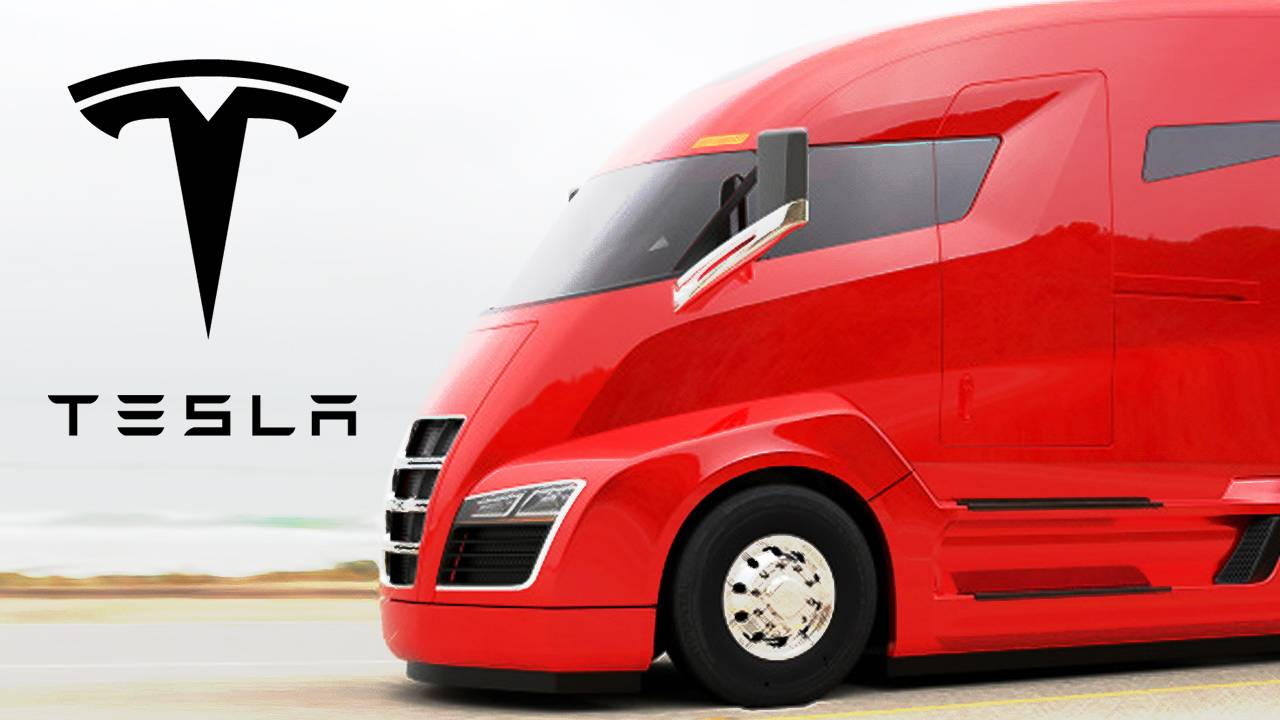 Image result for tesla semi truck