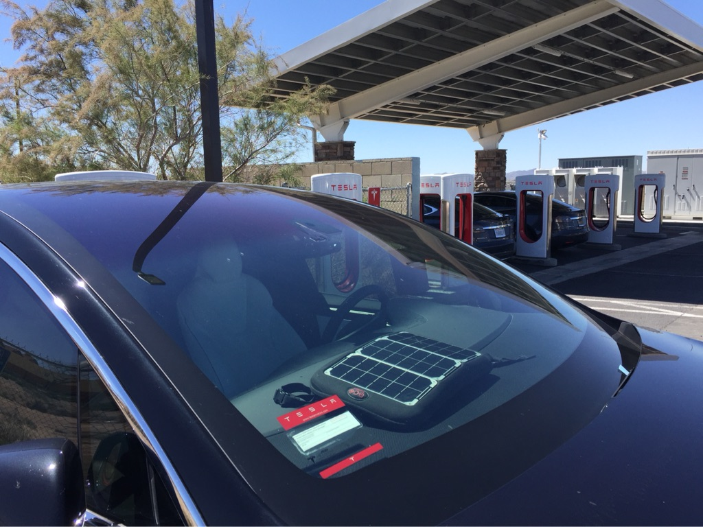 Tesla Superchargers Will Use Solar Power And Batteries