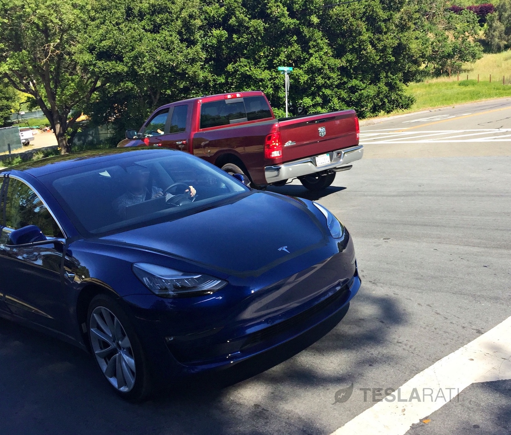 first close up look at tesla s model 3 interior in production ready form