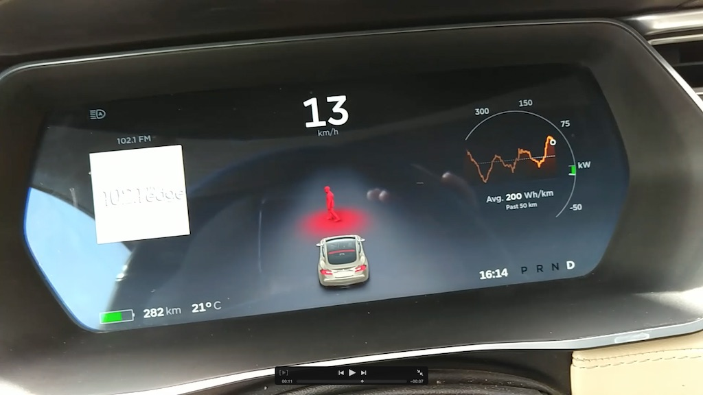 Tesla Model S Owner Reminds Us Of Active Hood Pedestrian Safety Feature