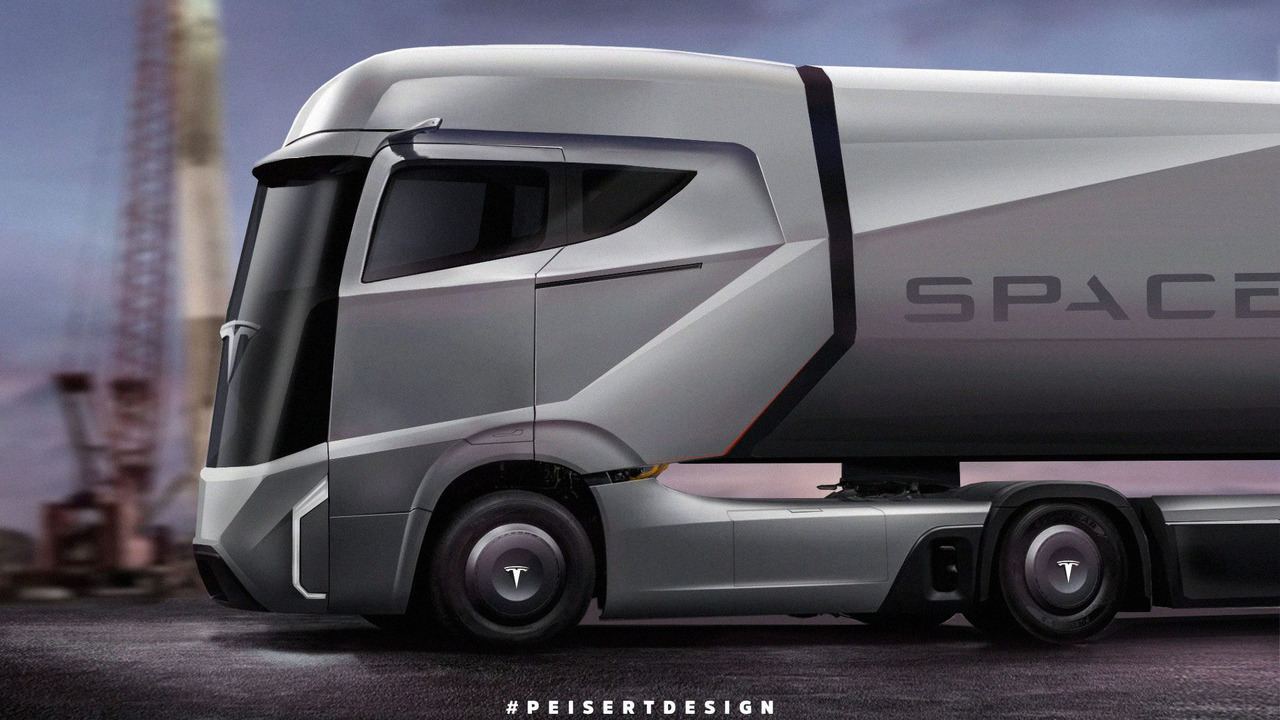 Tesla Semi Truck Due To Arrive In September Seriously Next Level