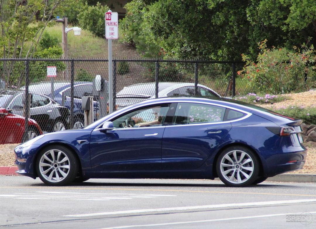 More Tesla Model 3 Colors Being Spotted Ahead Of Official