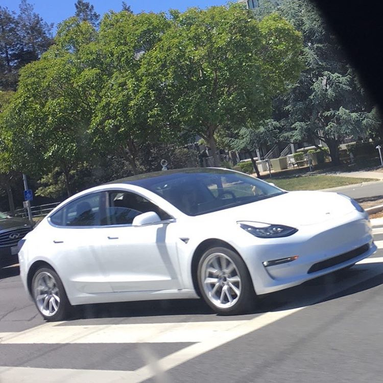 More Tesla Model 3 Colors