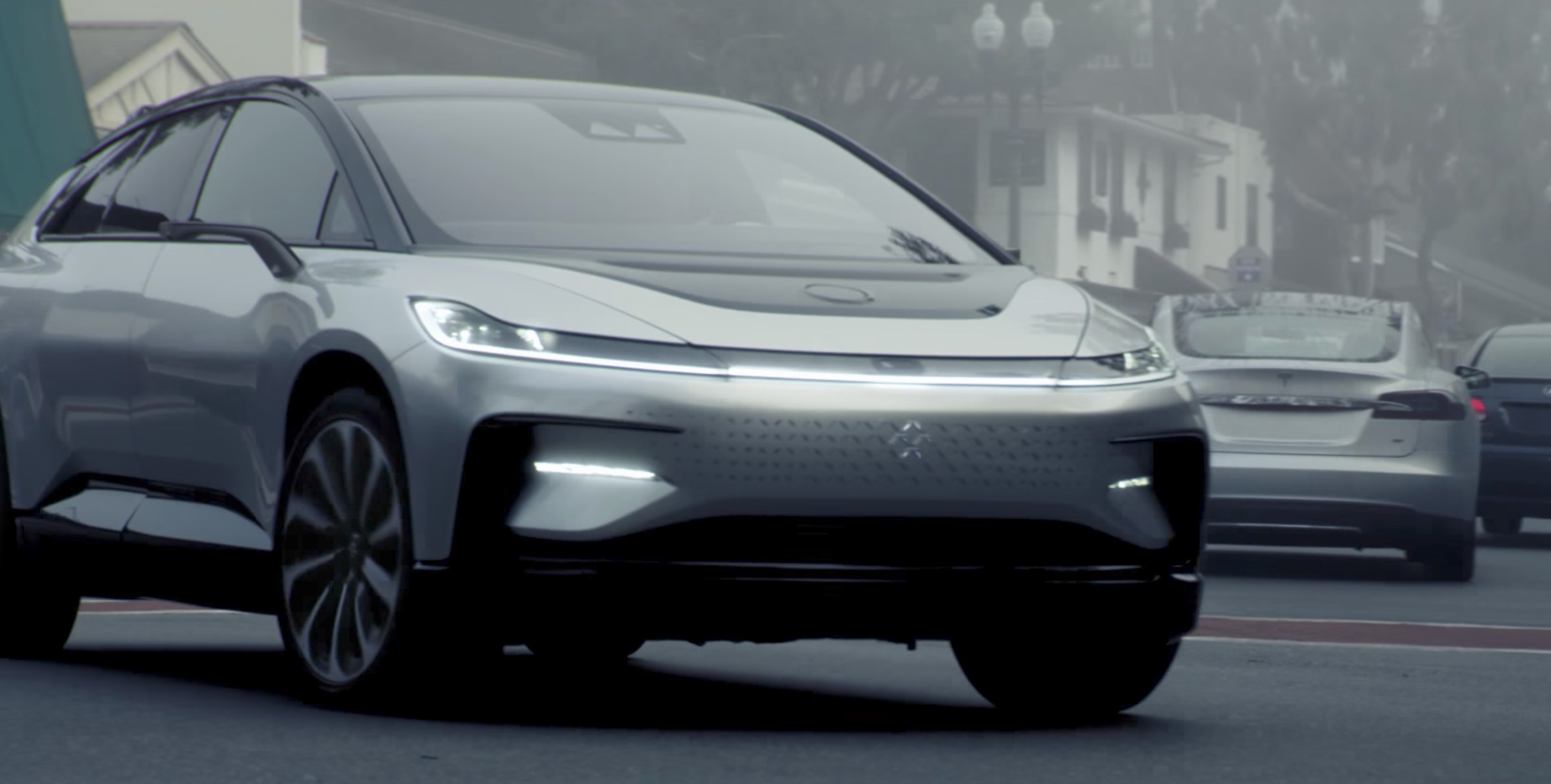 Tesla Solar Battery >> Faraday Future celebrates 3-year anniversary with another teaser video