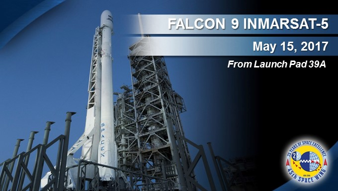 SpaceX readies for upcoming May 15 expendable Falcon 9 mission
