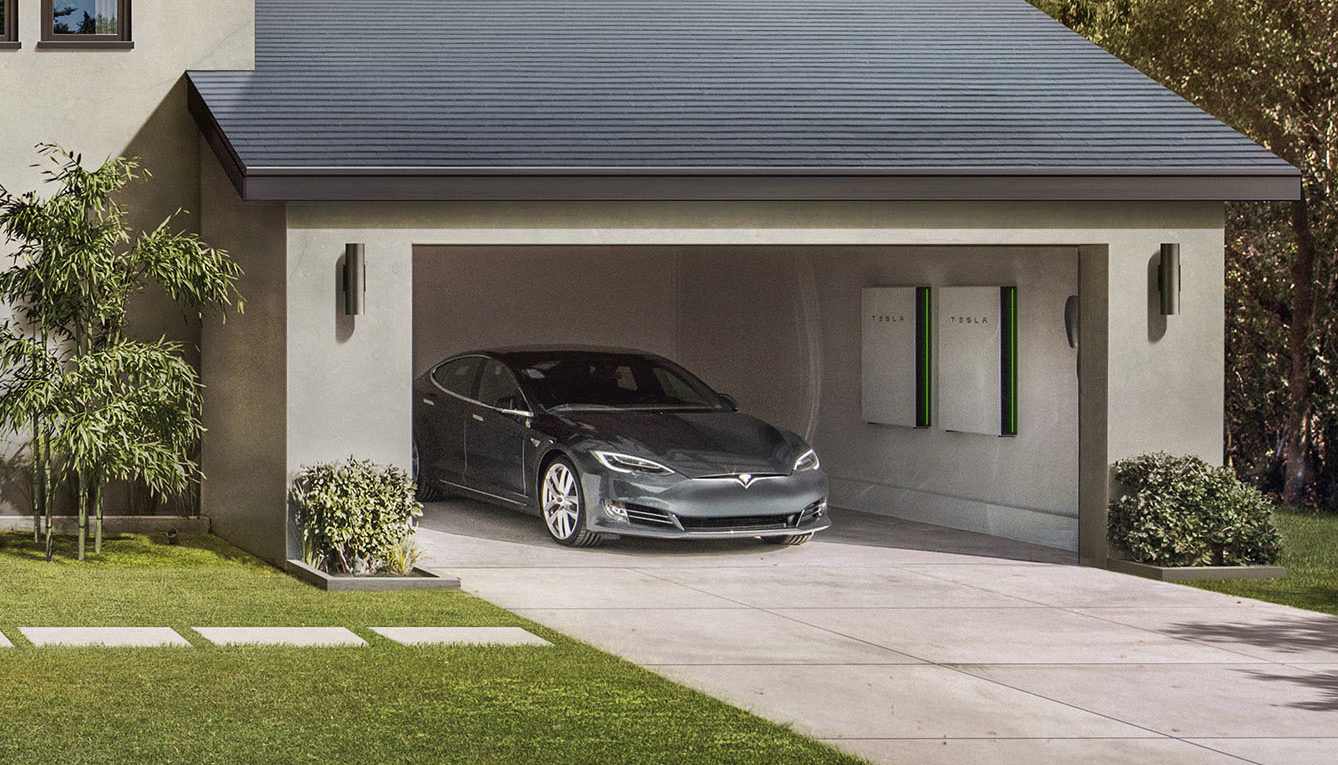 tesla-solar-roof-smooth-glass-model-s-powerwall-garage