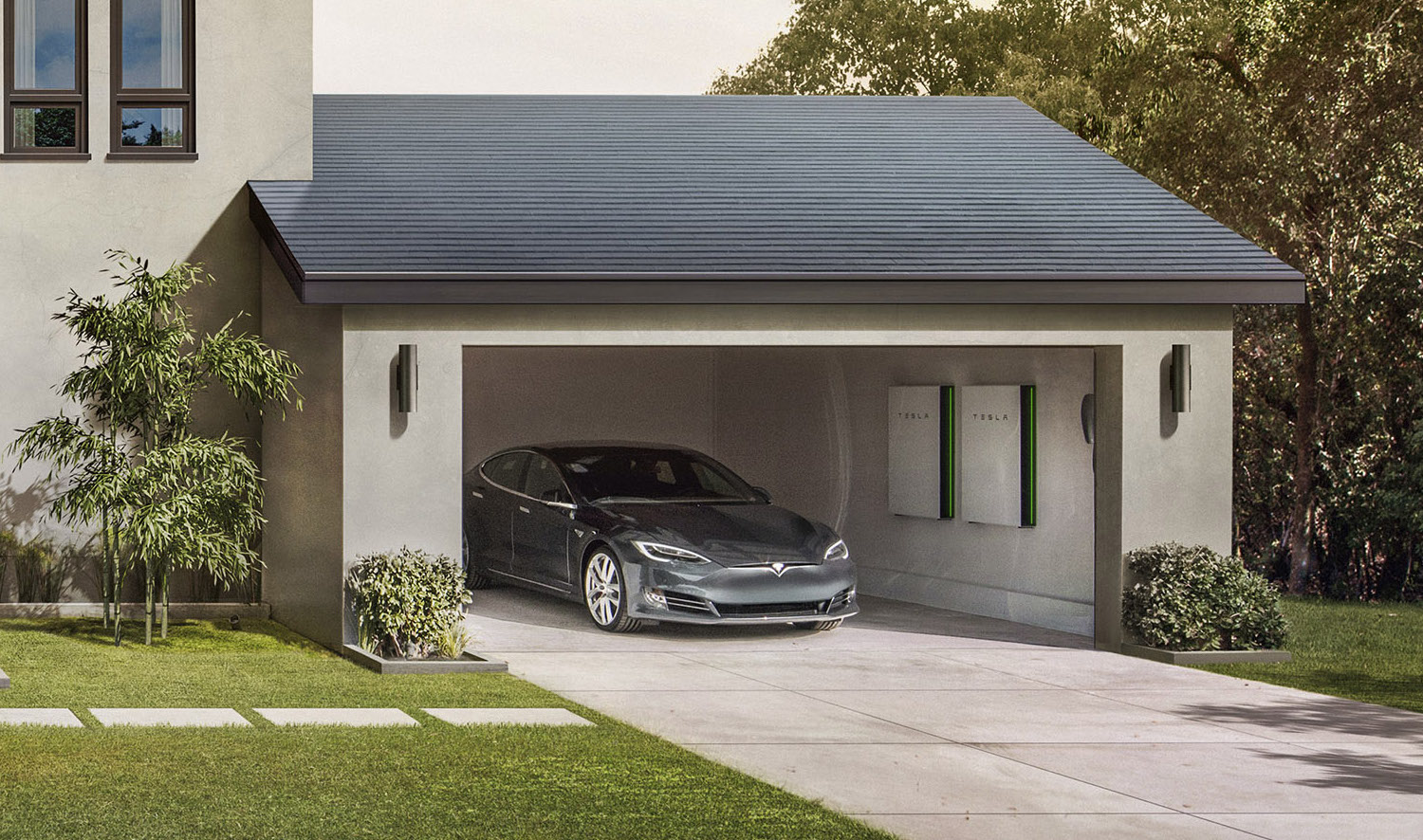tesla will offer solar roof financing by end of 2017. Black Bedroom Furniture Sets. Home Design Ideas