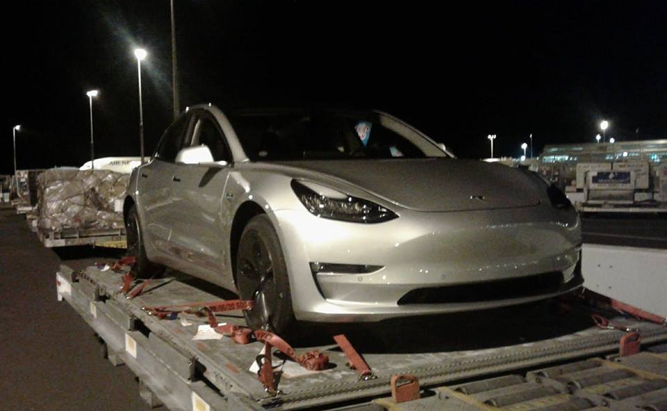 Tesla Model 3 Spotted In Auckland In Vehicle S First International Sighting