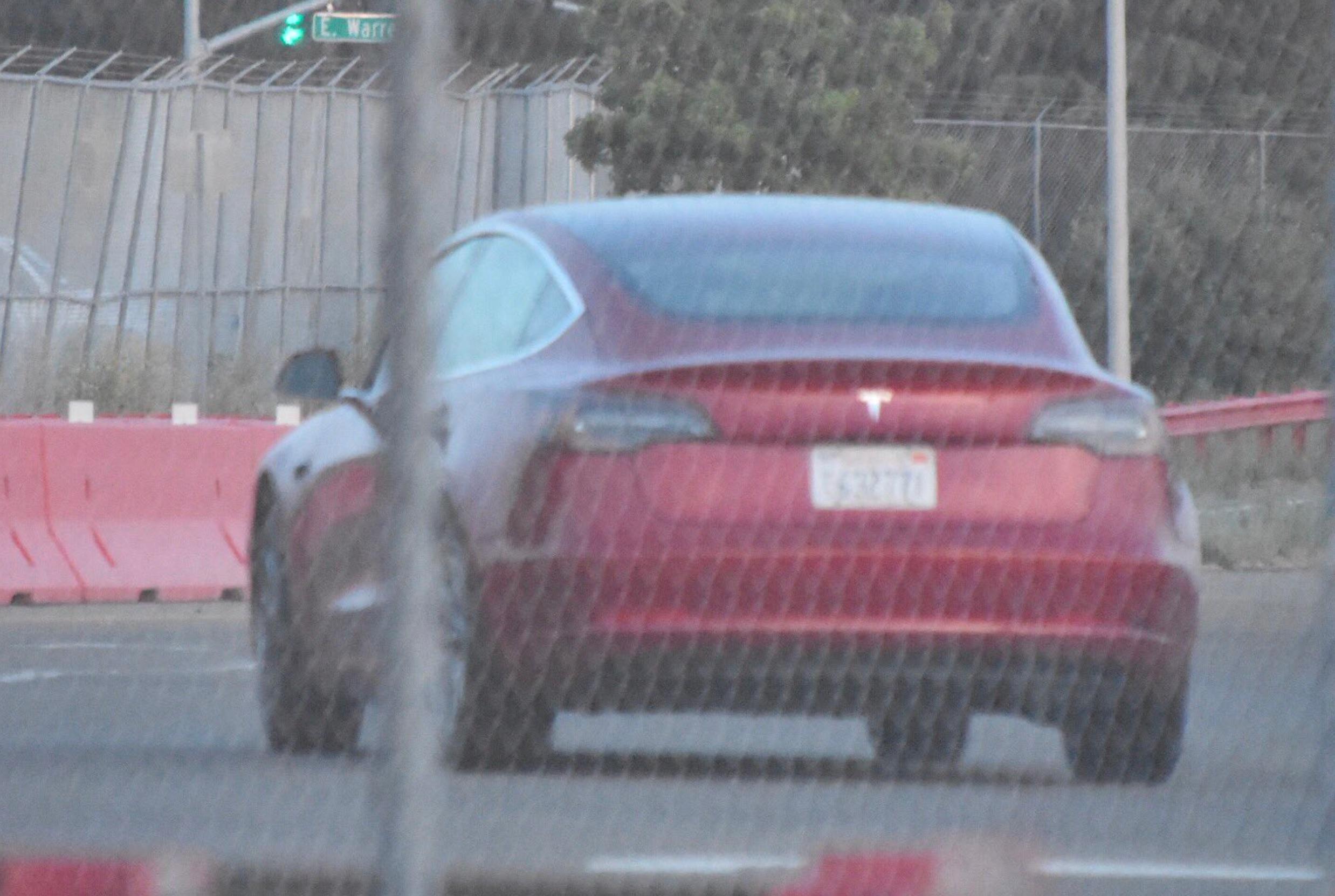 Red-Tesla-Model-3-test-track-fremont-7