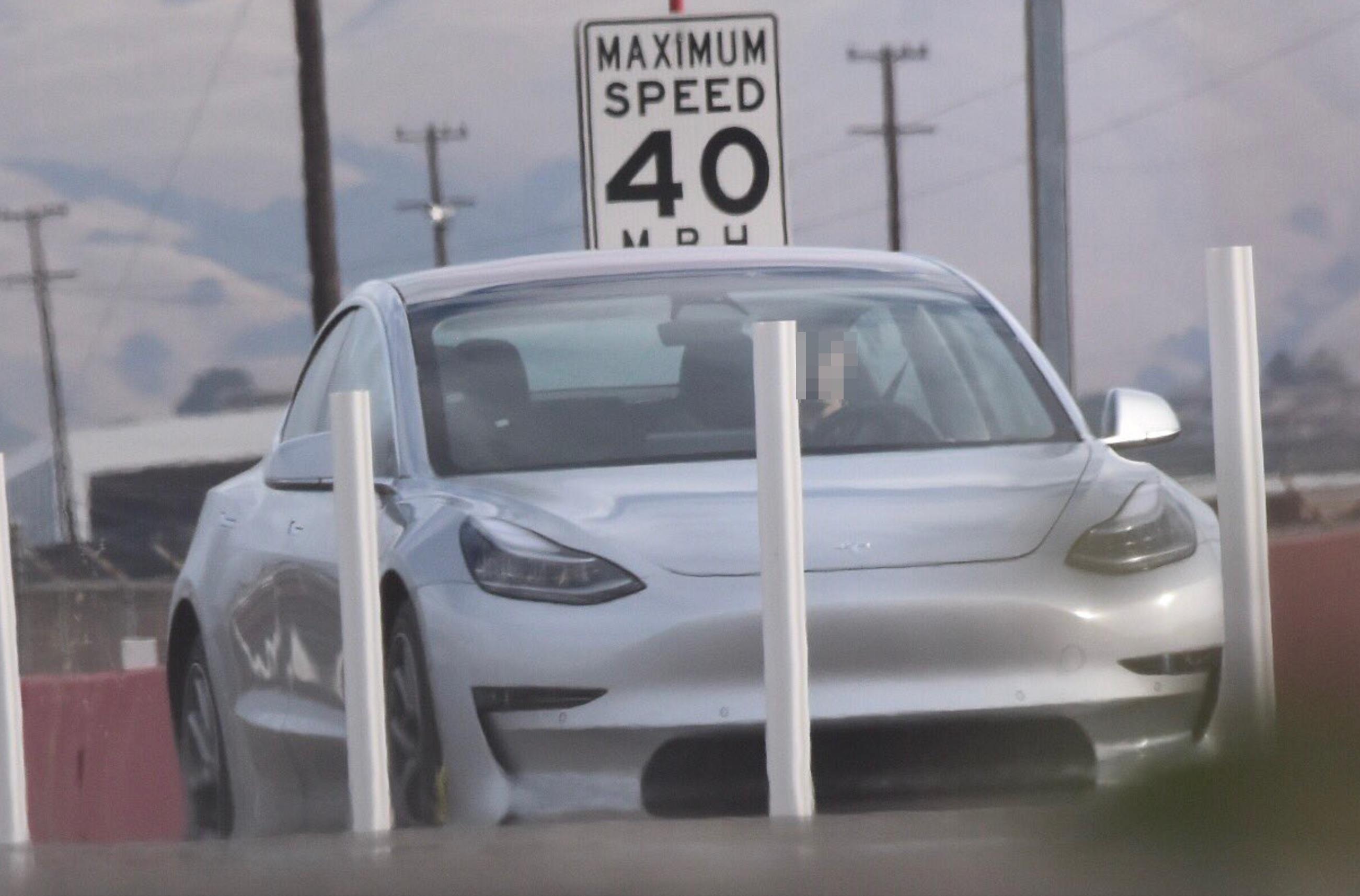 Silver-Tesla-Model-3-test-track-fremont-5