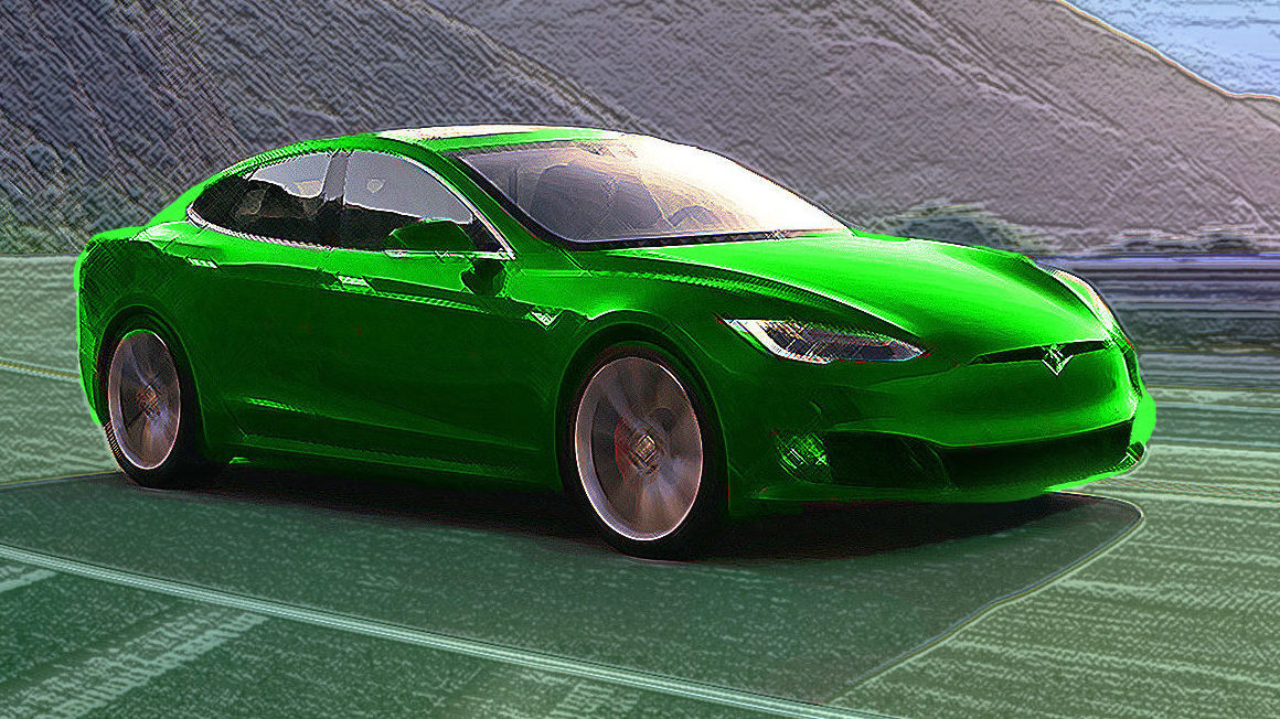 Tesla is Green