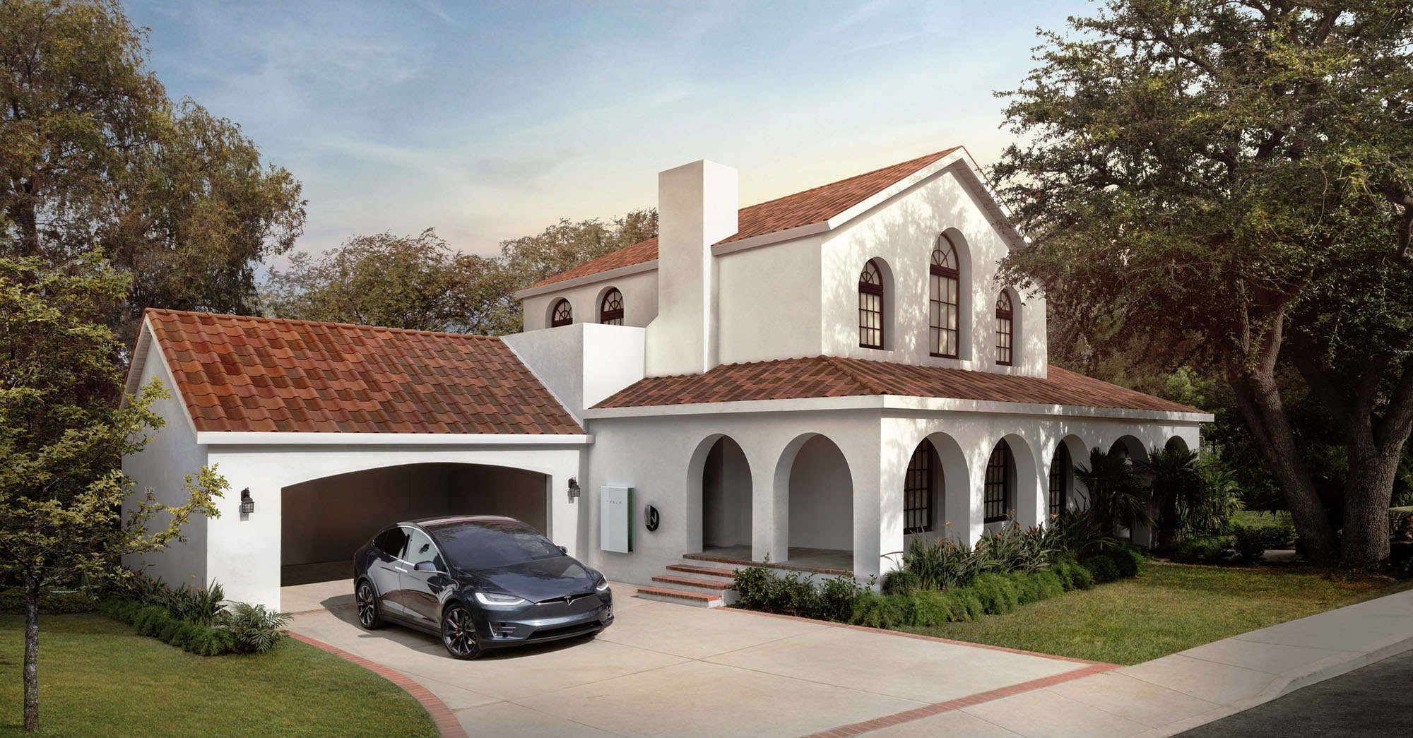 Solar tile california