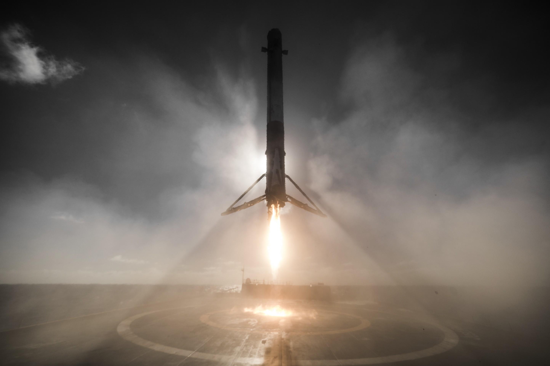 Iridium-1 landing