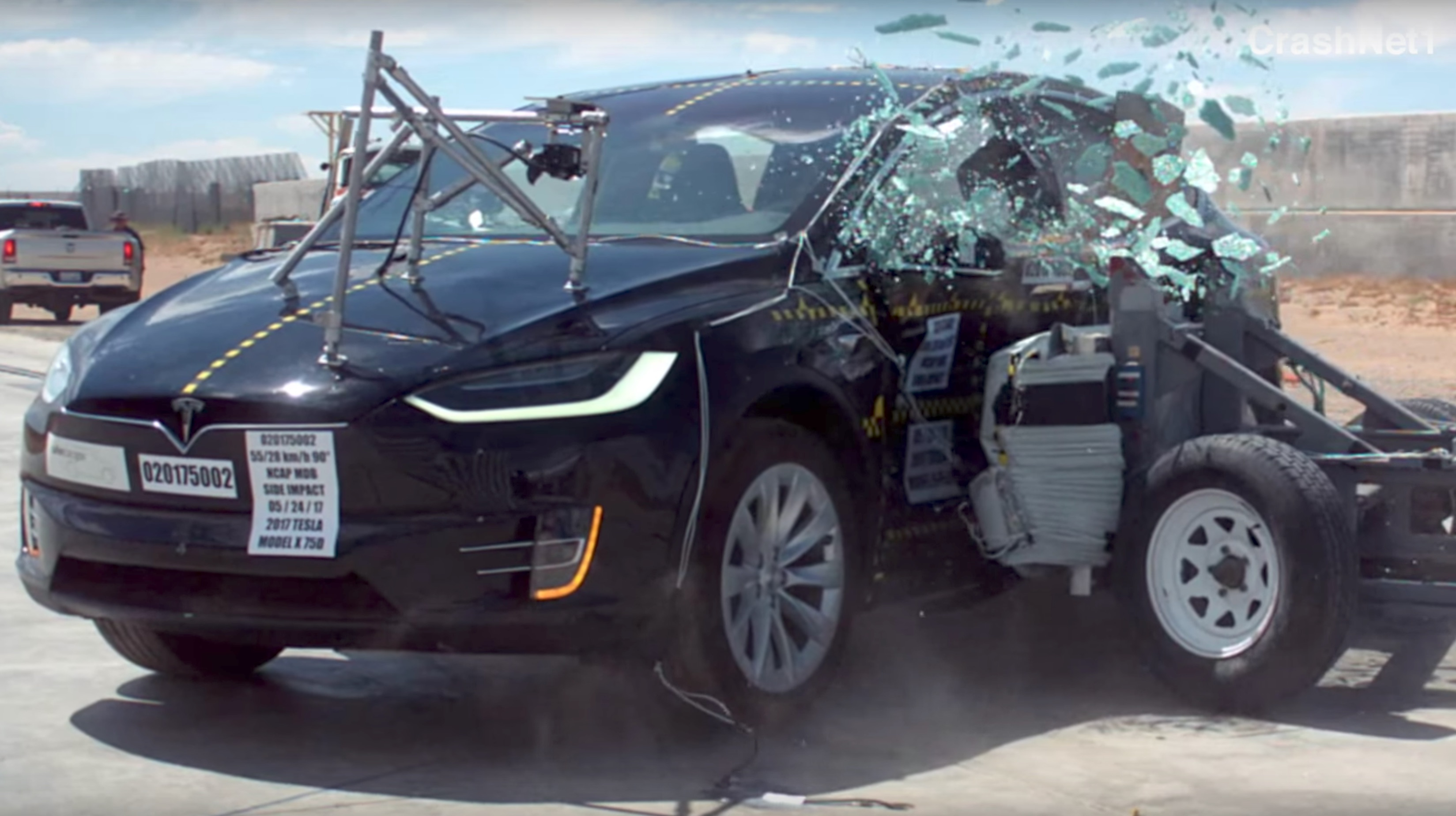 Tesla Model S Interior >> Tesla Model X awarded 5-star safety rating in every category by NHTSA