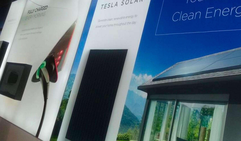 Tesla Solar Panels Have Officially Arrived In Tesla
