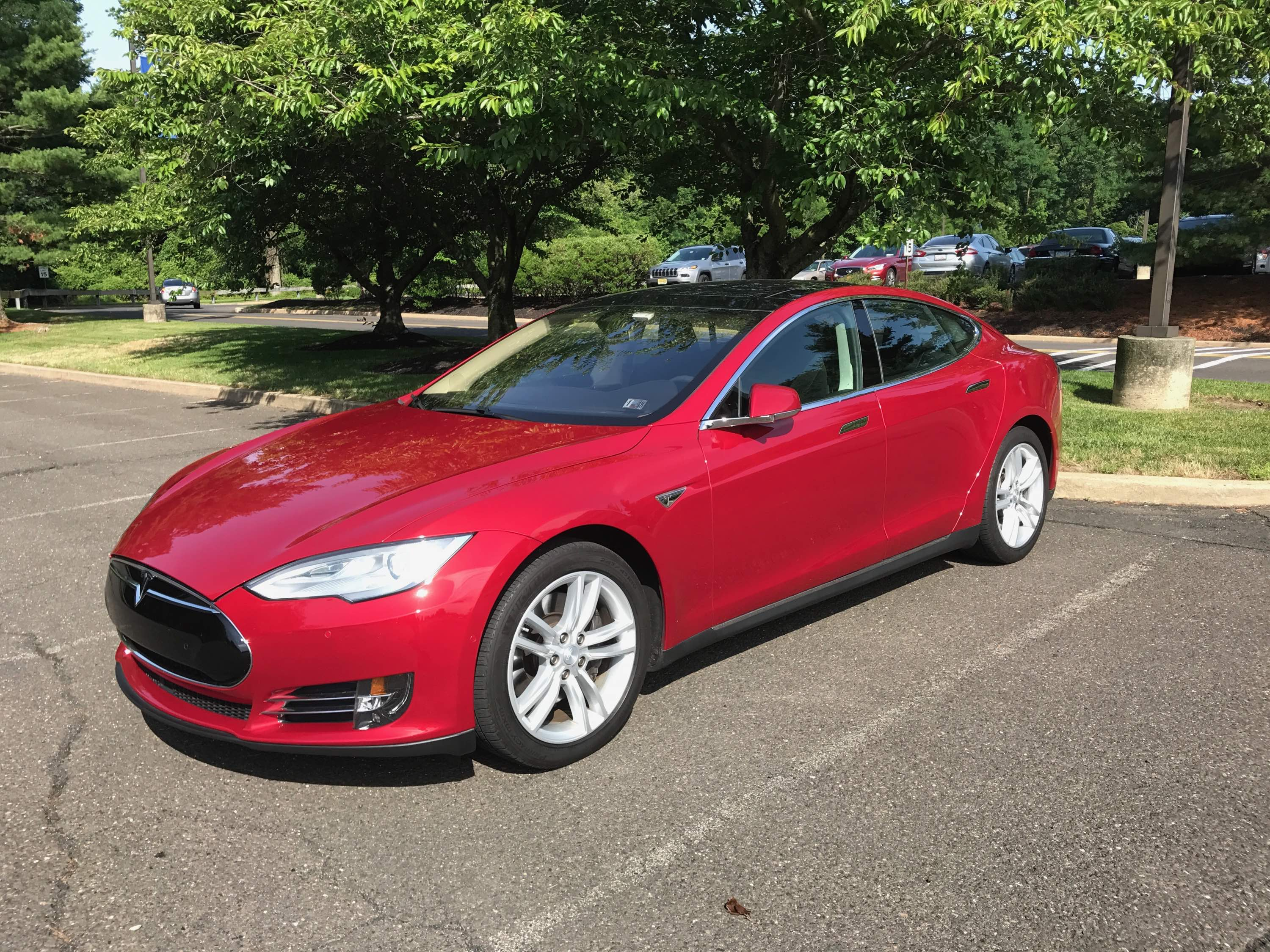 Washing your Tesla using a waterless wash and wax system ...
