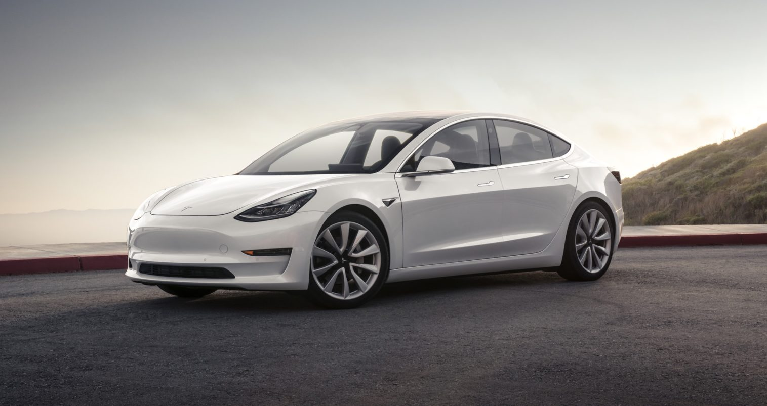 White-Model3-Tesla-Range