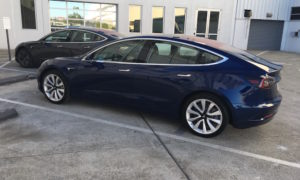 Model 3 blue
