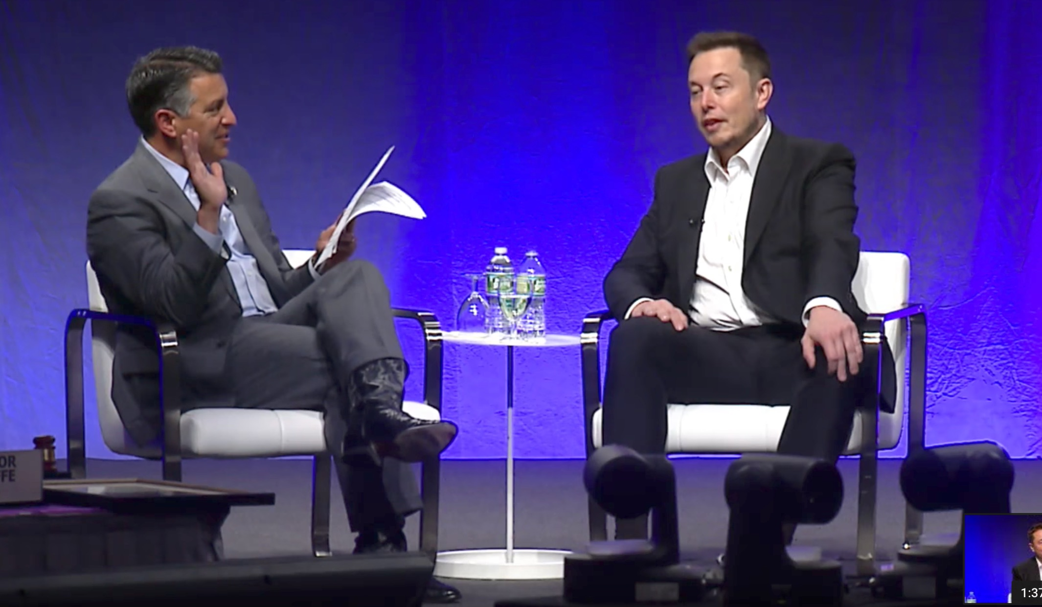 Elon Musk 50 Of New Cars Will Be Electric In 10 Years