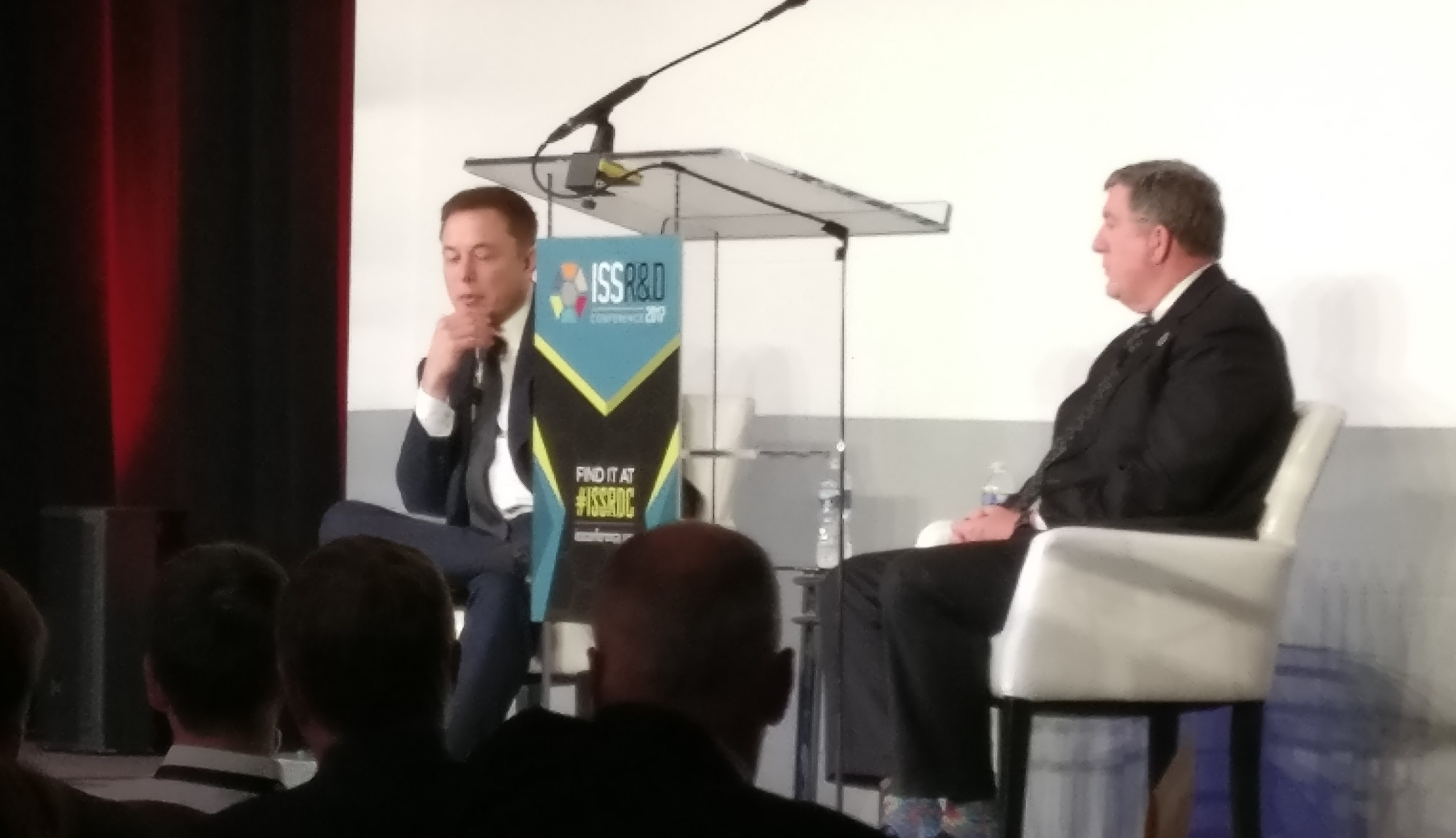 Musk at ISSRD