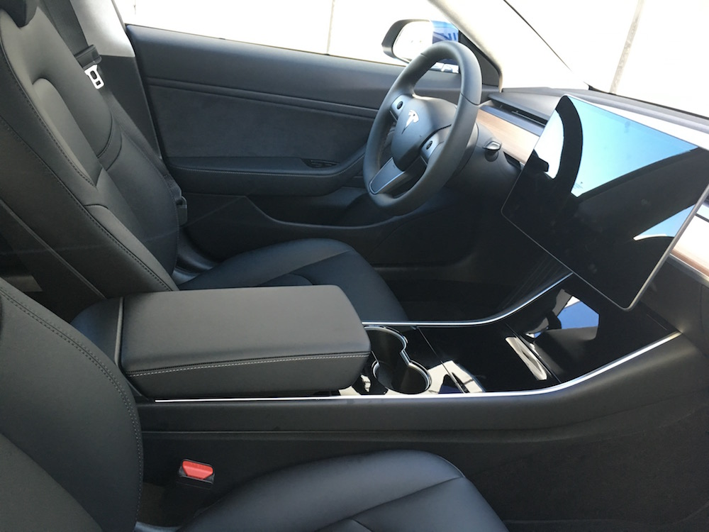 Model 3 interior for Tesla model 3 interieur