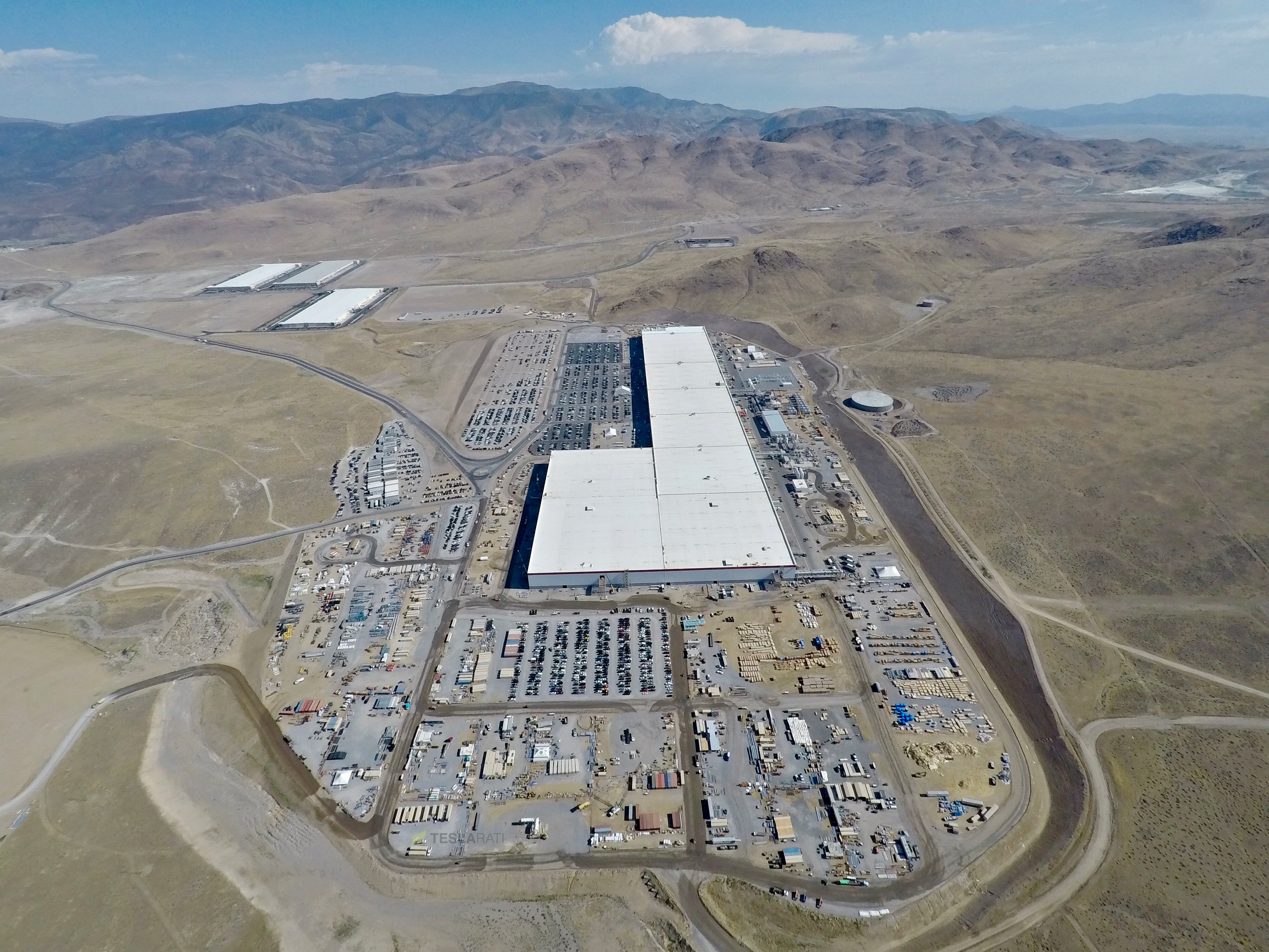 Tesla S Gigafactory Continues To Reshape Reno
