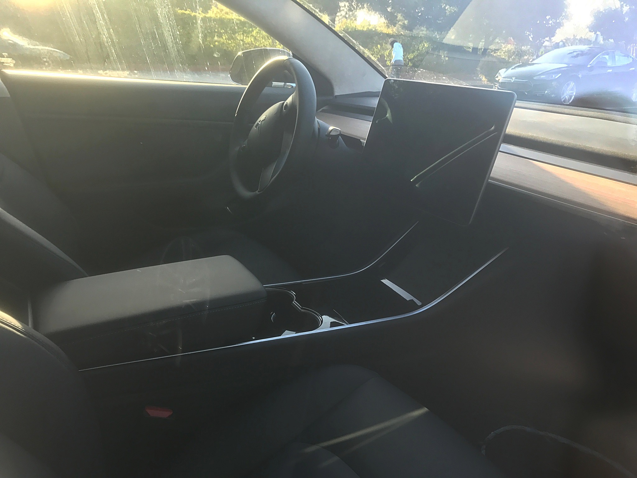 Tesla Model 3 Center Console Side 2 Teslarati