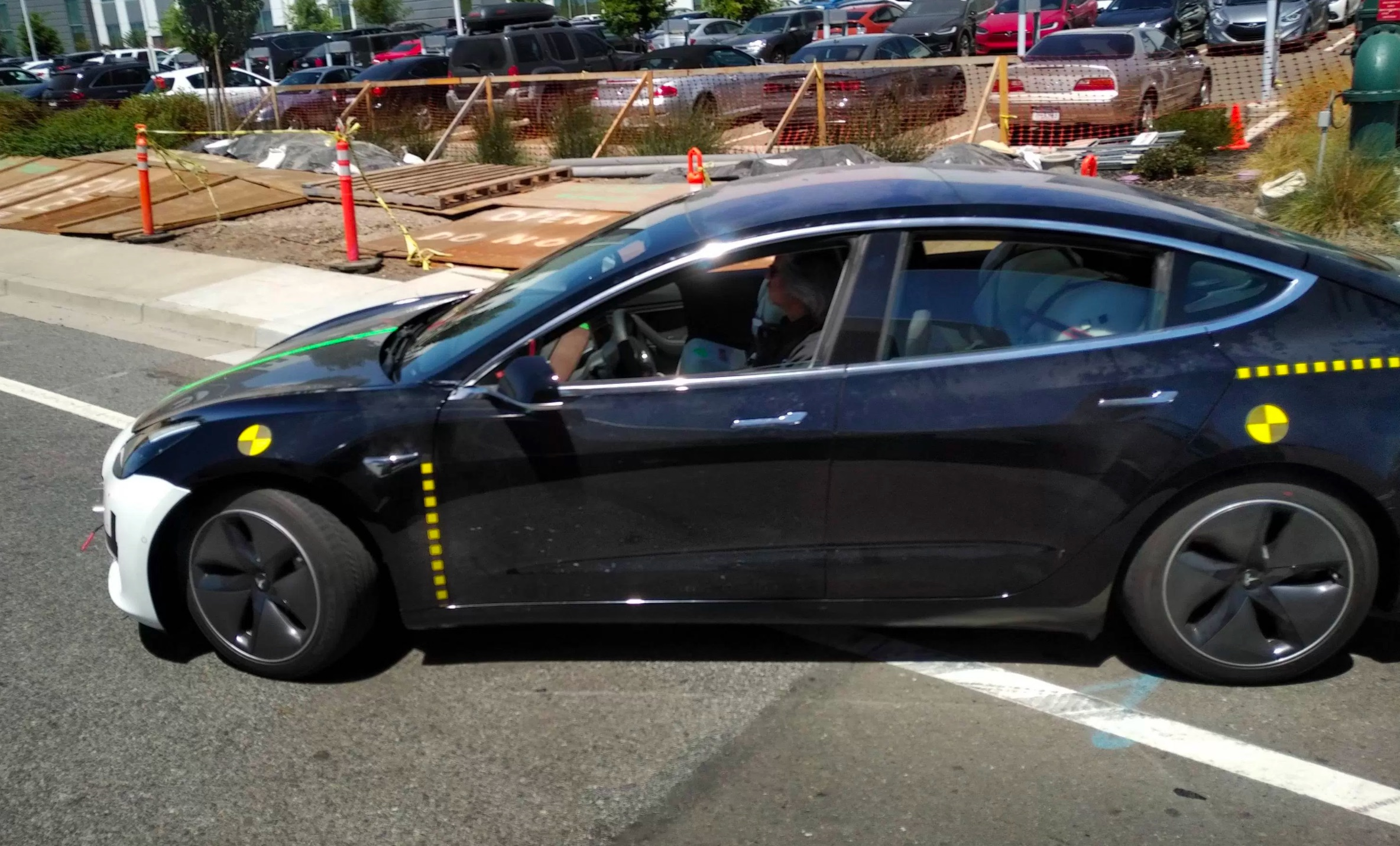 Tesla Model 3 S Body Structure Is A Strategic Blend Of