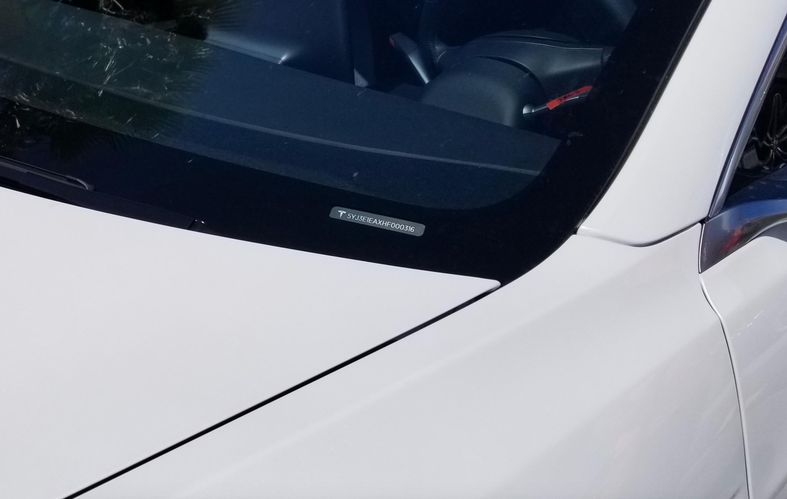 Here S How You Decode The Tesla Model 3 Vin