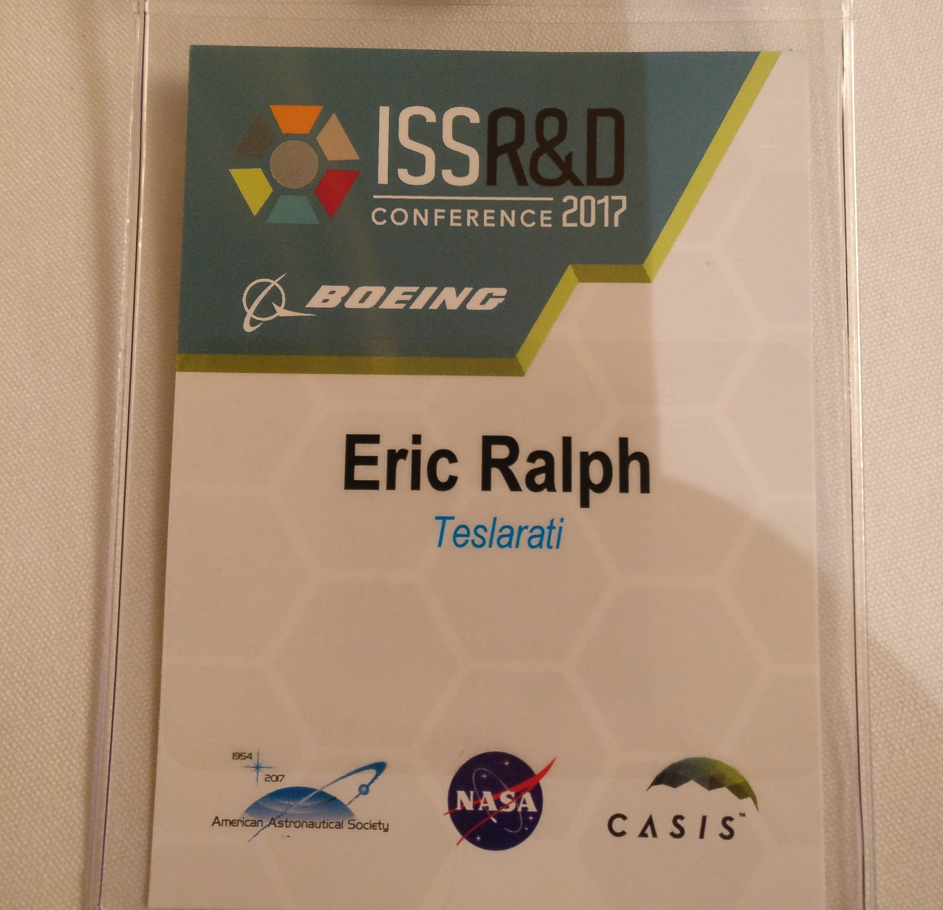 Teslarati at ISS R&D Conference 2017