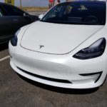 Tesla Model 3: 7th production car spotted, rear seat photos