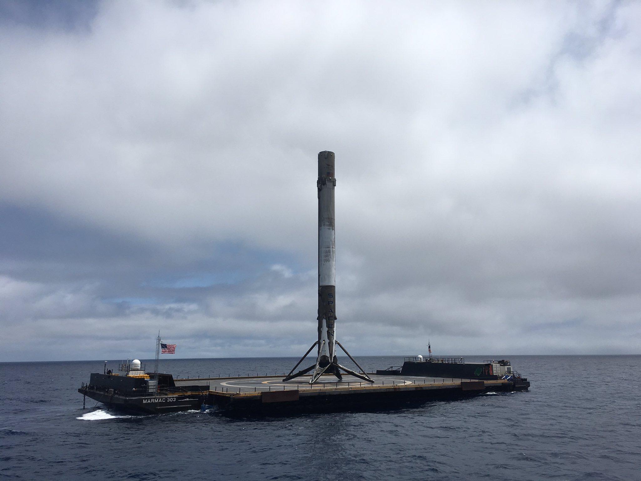 1038 landing – formosat 5