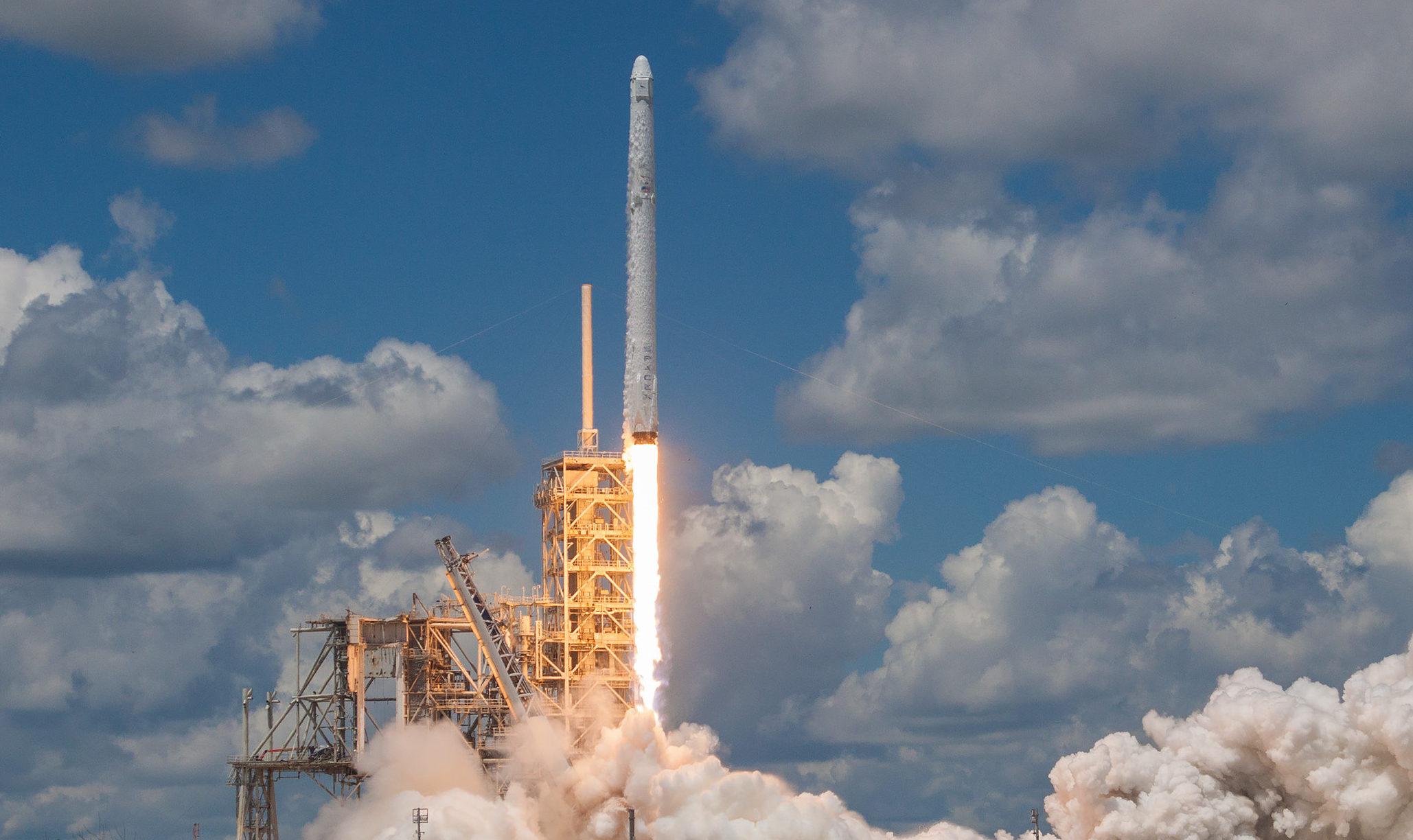 CRS-12 liftoff (SpaceX)