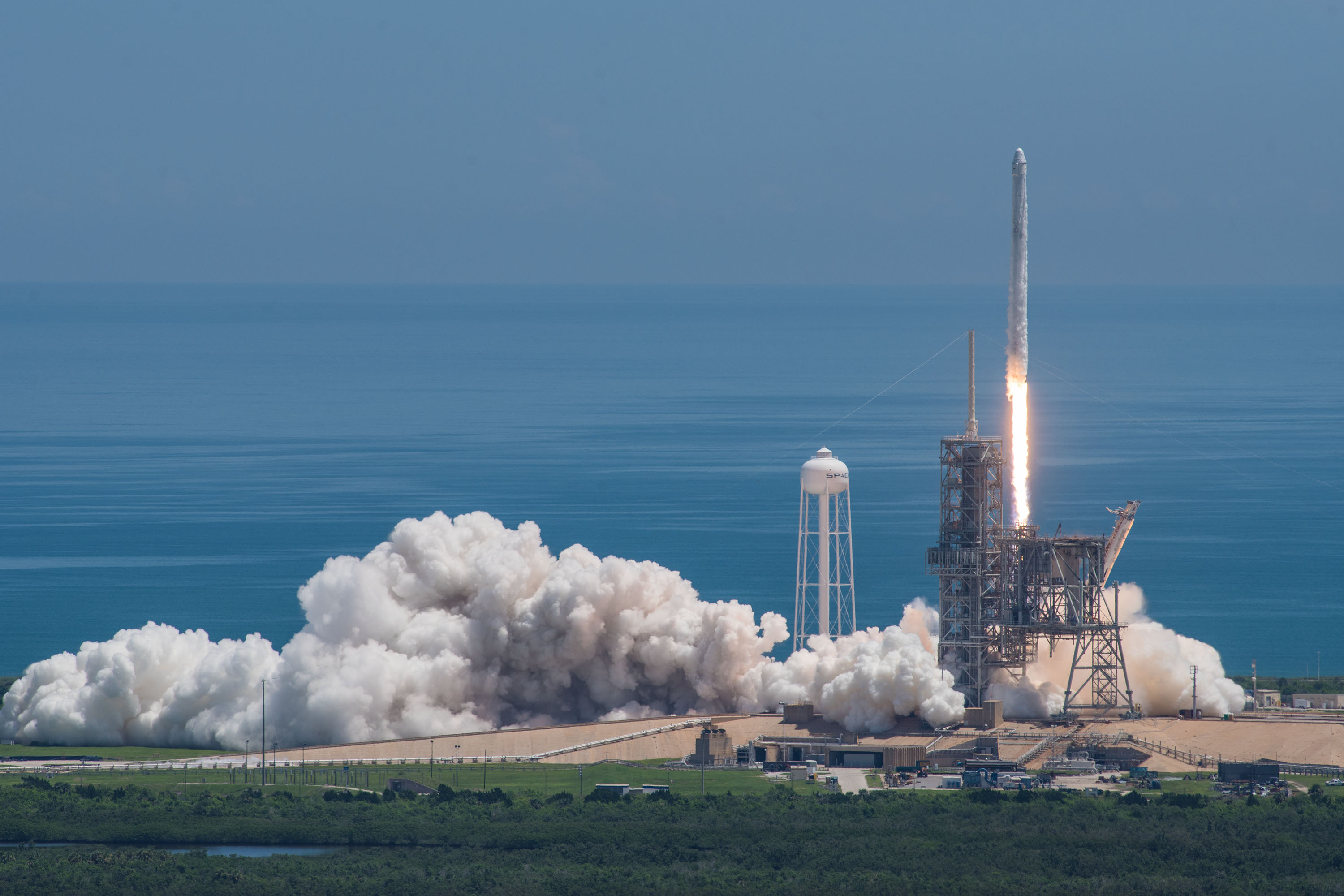 CRS-13 launch (SpaceX)