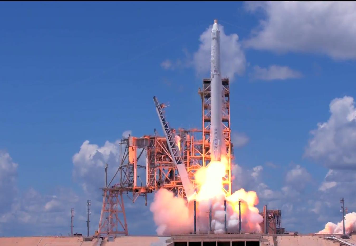 CRS-13 liftoff