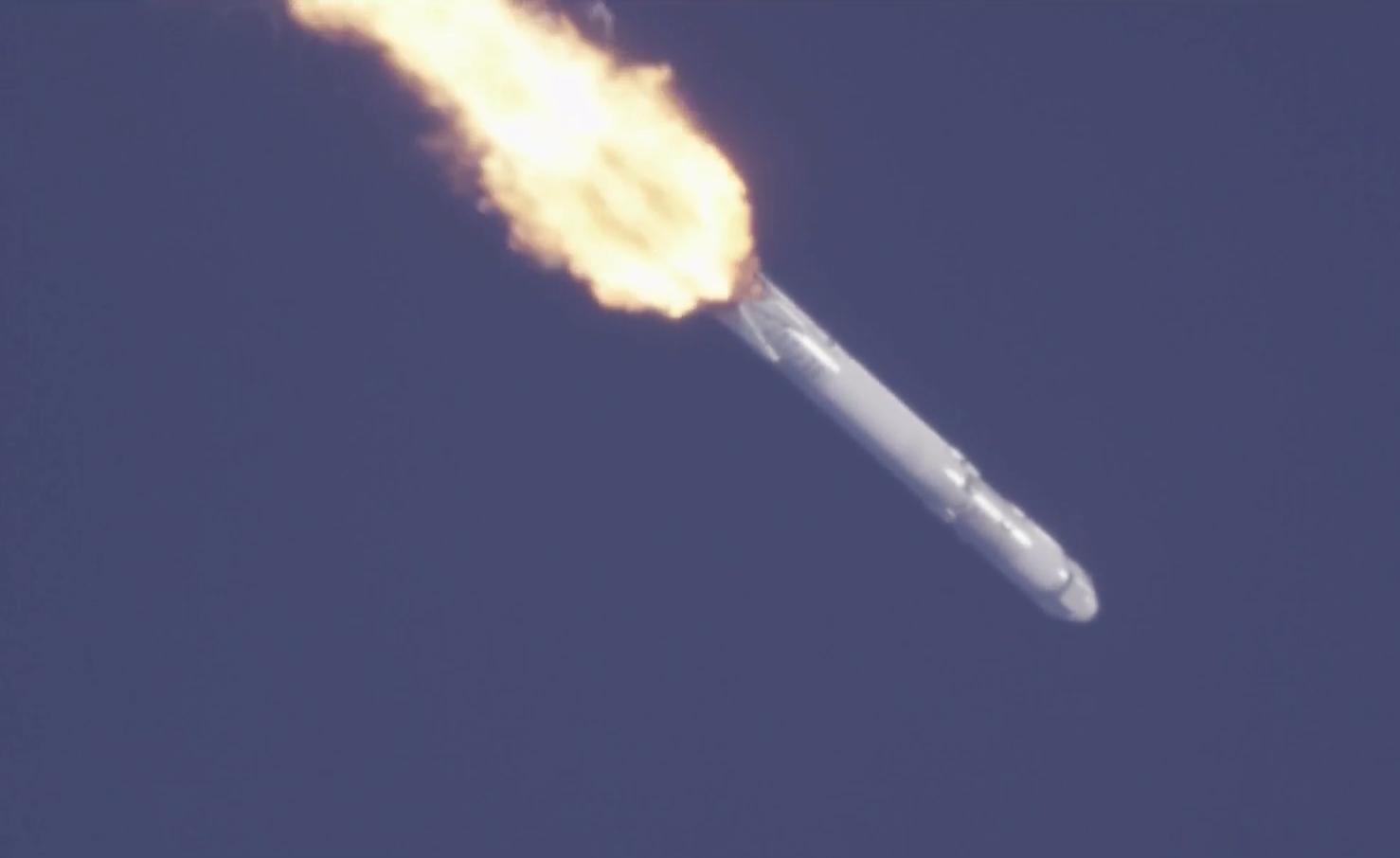CRS-13 max-Q
